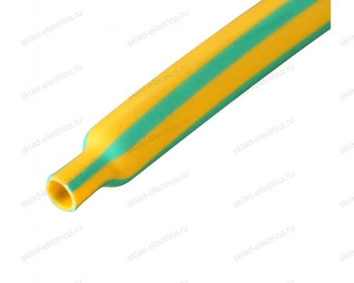 Трубка термоусадочная ТУТ 3,0 / 1,5 мм желто-зеленая (1м)