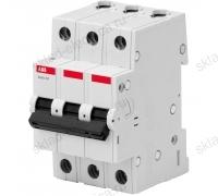 Автоматический выключатель трехполюсный 10А С ABB