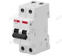 Автоматический выключатель двухполюсный 20А С ABB
