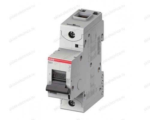 Выключатель автоматический однополюсный 80А C S801 15кА АВВ 2CCS881001R0804