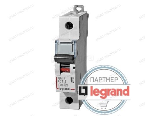 Legrand Выключатель автоматический однополюсный 6А C DX3-E 6кА (арт. 407260)