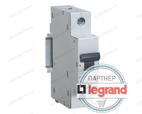 Автоматический выключатель Legrand RX3 4,5кА 6А 1-полюсный, характеристика C