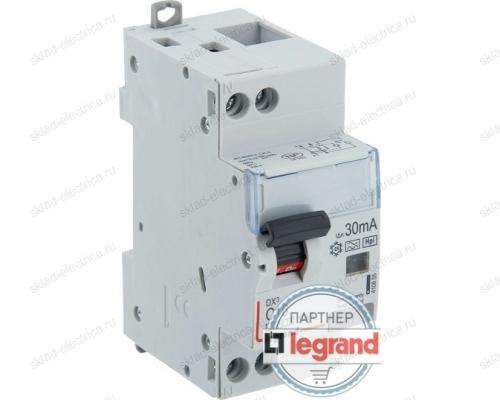 Выключатель автоматический дифференциального тока АВДТ DX3 1п+N 16А 30мА АС Legrand 411002