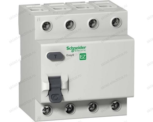 Выключатель дифференциальный четырехполюсное (УЗО) 63А 30мА АС Schneider Electric