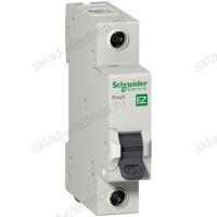 Автоматический выключатель однополюсный 10А С Schneider Electric
