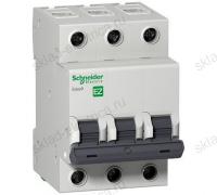 Автоматический трехполюсный выключатель Schneider Electric Easy9 C6 4,5кА