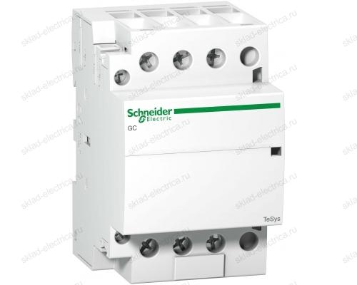 Контактор модульный iCT63A 4НО 220/240В АС 50ГЦ Schneider Electric A9C20864