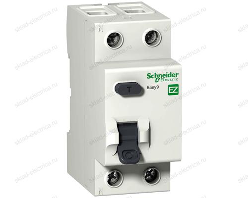 Выключатель дифференциальный двухполюсный (УЗО) 25А 30мА АС Schneider Electric