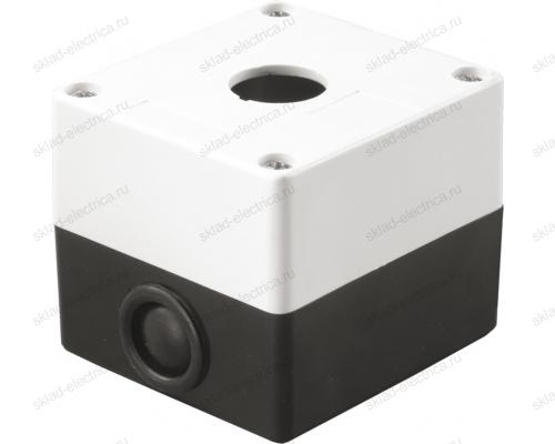 Корпус КП101 для кнопок 1 место белый ИЭК