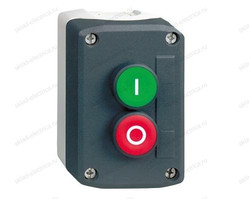 Пост кнопочный на 2 кнопки с возвратом Schneider Electric XALD213