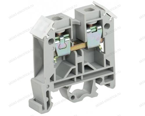 Зажим наборный изолированный ЗНИ 4 мм² серый (диапазон сечения 1,5-4мм²)