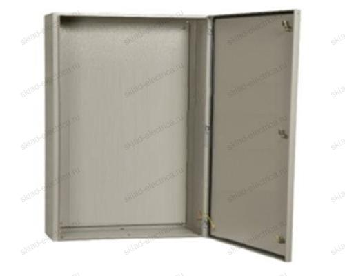 Щит металлический влагозащищенный с монтажной платой ЩМП 08 IP54 650х500х220 ( Россия )
