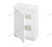 Щит АВВ распределительный навесной 16 мод. пластиковый белая дверца (с клеммными блоками)