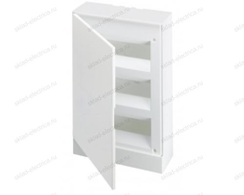 Щит АВВ распределительный навесной 36 мод. пластиковый белая дверца (с клеммными блоками)