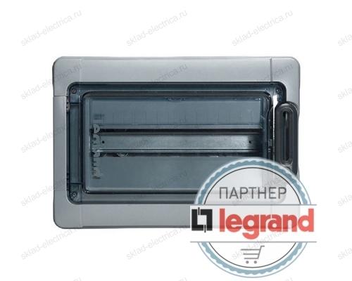 Бокс Legrand Plexo IP65 накладной на 18 (1х18) модулей с шинами N+PE с прозрачной дверью