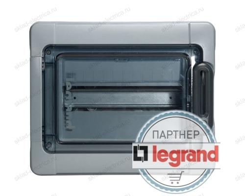 Бокс Legrand Plexo IP65 накладной на 12 (1х12) модулей с шинами N+PE с прозрачной дверью