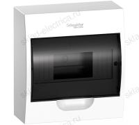 Бокс навесной с прозрачной дверцей Schneider Electric Easy9 на 8 модулей с клеммниками N+PE