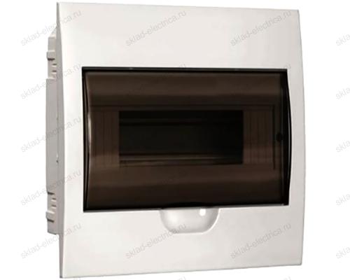 Бокс пластиковый встраиваемый IEK ЩРВ-П на 6 модулей с прозрачной дверкой