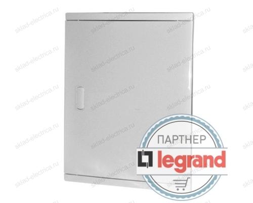 Щит Legrand Nedbox в нишу на 36 (+6) модулей (3х12) с шинами N+PE с белой дверью