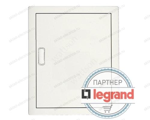 Щит Legrand Nedbox в нишу на 24 (+4) модуля (2х12) с шинами N+PE с металлической дверью