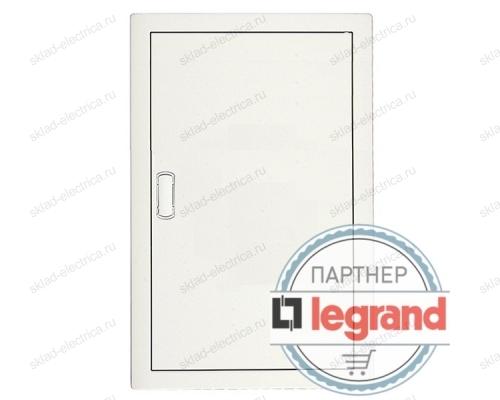 Щит Legrand Nedbox в нишу на 48 (+8) модулей (4х12) с шинами N+PE с металлической дверью