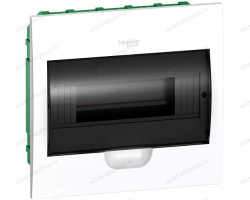 Бокс встраиваемый с прозрачной дверцей Schneider Electric Easy9 на 8 модулей с клеммниками N+PE