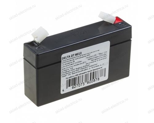 Аккумулятор 6В 1,2 А/ч 30-6012-4