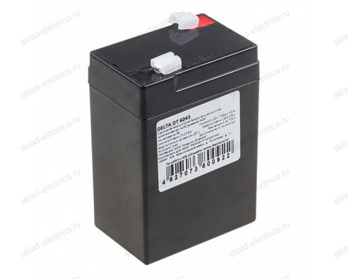 Аккумулятор 6В 4,5 А/ч 30-6045-4