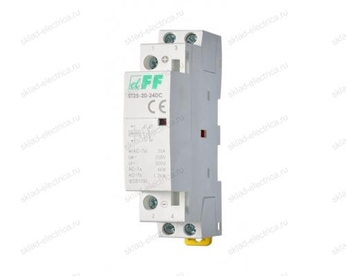 Контактор модульный ST25-20-24DC