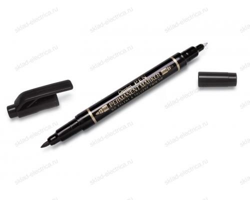 Маркер-ручка 0,7мм черный