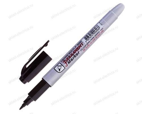 Маркер Ручка черный 1-2 мм