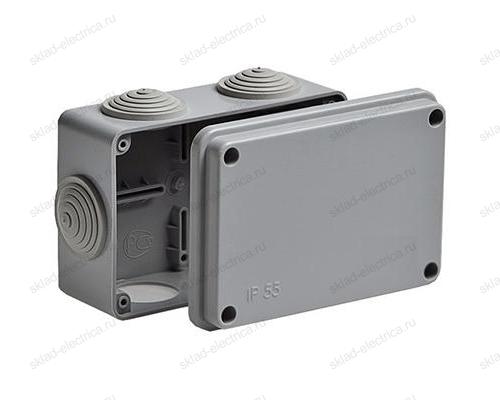 Коробка распаячная открытый провод IP55 (120х80х50 мм)