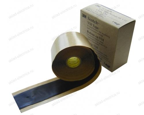 Изолента резиновая 50мм 1,65мм 3м сырая резина самослипающаяся