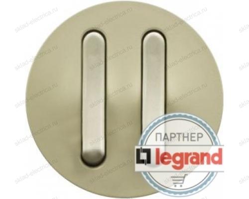 Выключатель бесшумный двойной Legrand Celiane 6А (слоновая кость) 66207 - 67013 - 67013 - 80251
