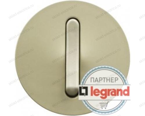 Выключатель кнопочный бесшумный Legrand Celiane 10А (слоновая кость) 66206 - 67033 - 80251