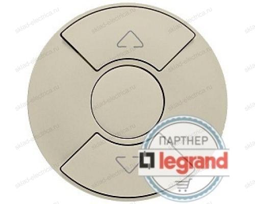 Выключатель Legrand Celiane для рольставней, штор, жалюзи (слоновая кость) 66290 - 67601 - 80251