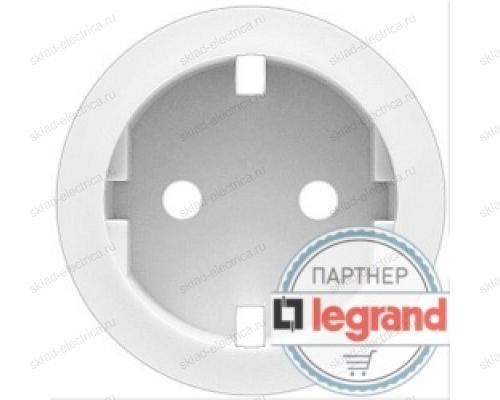 Розетка электрическая с заземлением с защитными шторками Legrand Celiane (белый) 67161 - 68131 - 80251