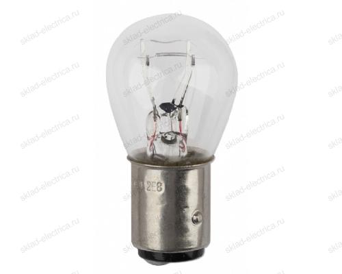 ЭРА Автолампа P21/5W BAY15d (лампа для указателей поворота и стоп-сигнала)