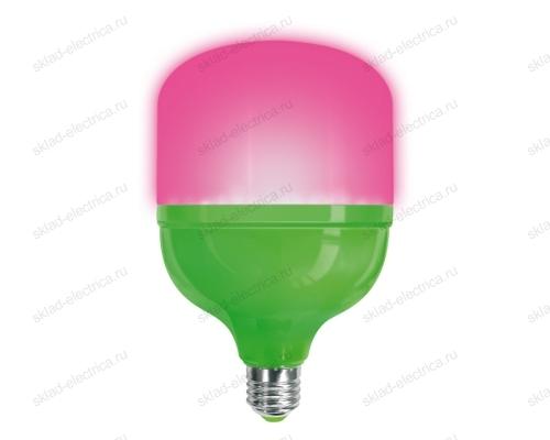 LED-M80-20W-SPSB-E27-FR PLS55GR Лампа светодиодная для растений. IP54. Форма M. матовая. Спектр для рассады и цветения.