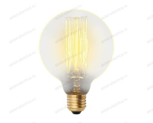 IL-V-G125-60-GOLDEN-E27 VW01 Лампа накаливания Vintage. Форма шар. Форма нити VW. Картон. ТМ Uniel