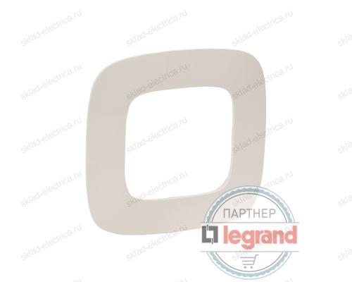 Рамка одинарная Legrand Valena Allure слоновая кость 754311