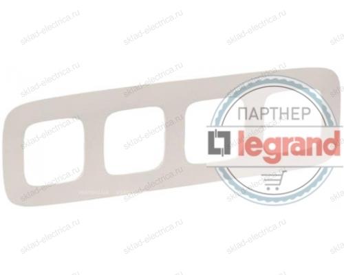 Рамка четверная Legrand Valena Allure слоновая кость 754314