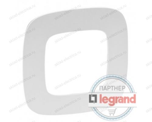 Рамка одинарная Legrand Valena Allure, жемчуг 754411