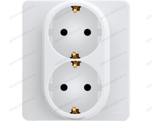 Розетка электрическая Legrand Inspiria белый 673750