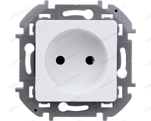 Розетка электрическая Legrand Inspiria белый 673710