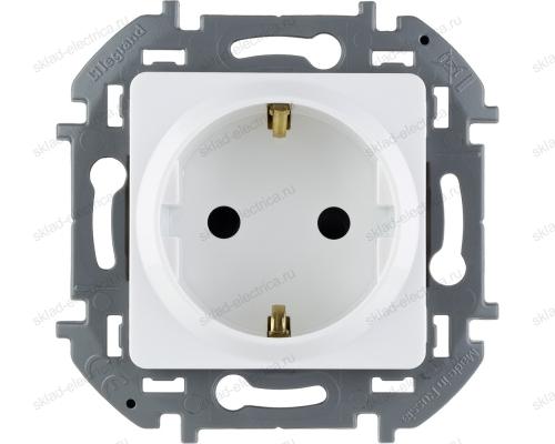 Розетка электрическая Legrand Inspiria белый 673730