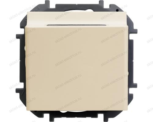 Выключатель для гостиничных номеров Legrand Inspiria слоновая кость 673801
