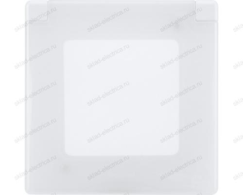 Рамка с защитной крышкой IP 44 Legrand Inspiria белый 673920