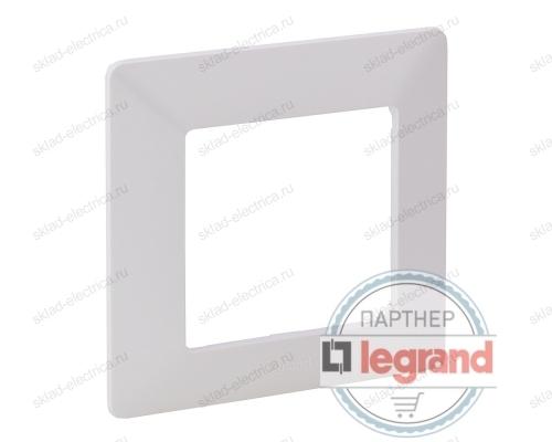 Рамка одинарная Legrand Valena Life, белый 754007