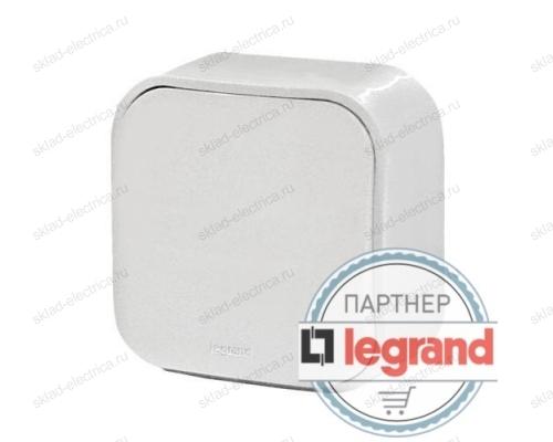 Выключатель проходной одноклавишный белый Legrand Quteo 782204
